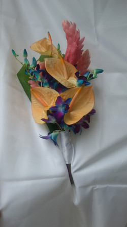 Anthurium, Ginger Lilies & Orchids