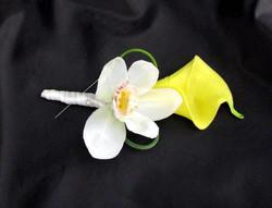 Cala Lily & Cybidium Orchid