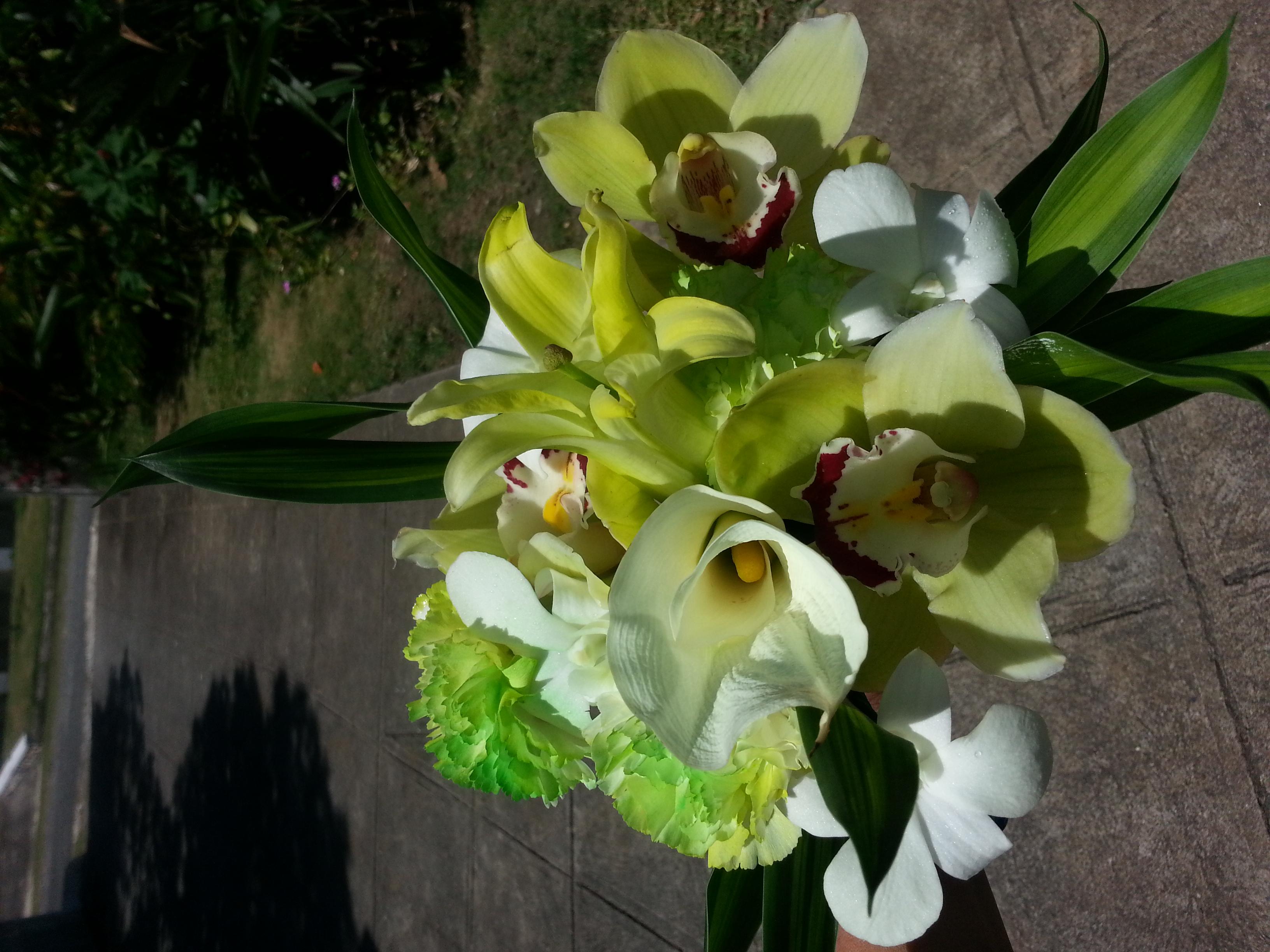 Casa & Calla Lilies & Orchids