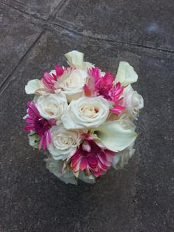 Roses, Calla Lilies & Gerber Daises