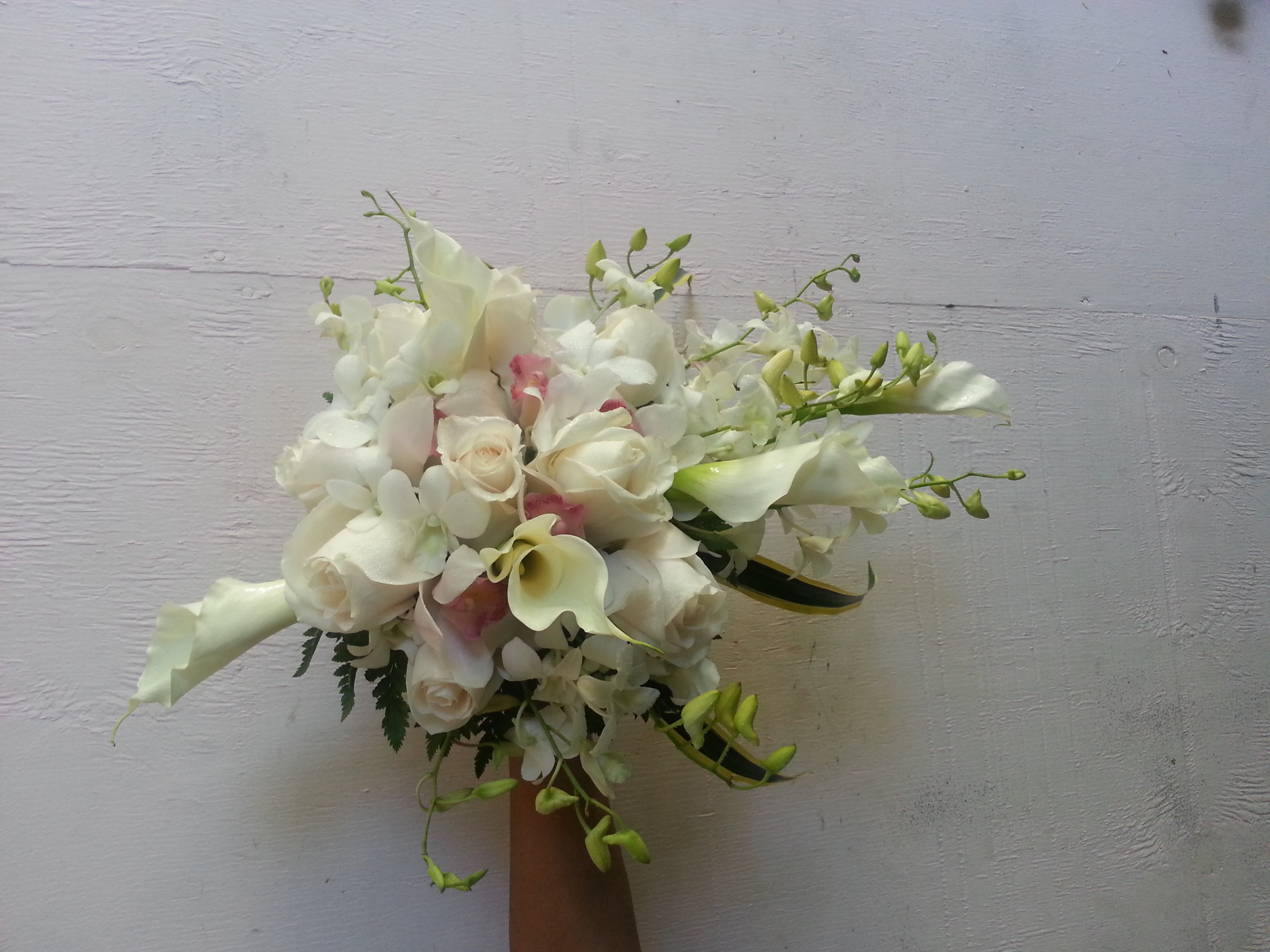 Calla Lillies Roses & Orchids