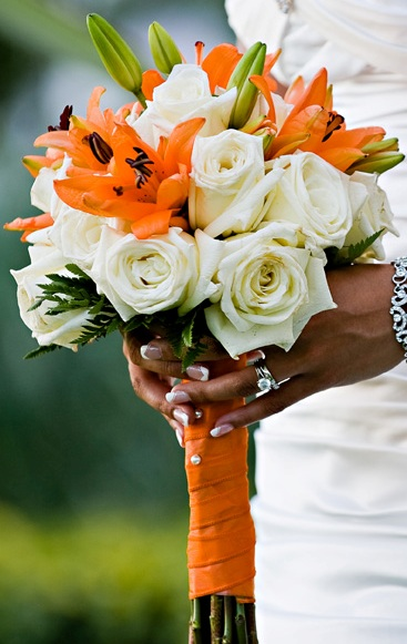 Tiger lilies & Roses