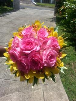 Roses & Cymbidium Orchids