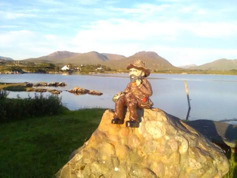 #SeanOg in our Seaside Garden & Nature Trails