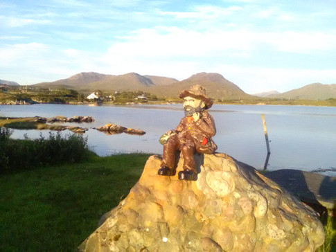 #SeanOg in our Seaside Garden & Nature Trails