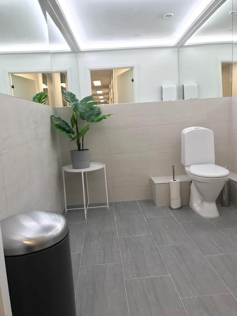 Toalett stor
