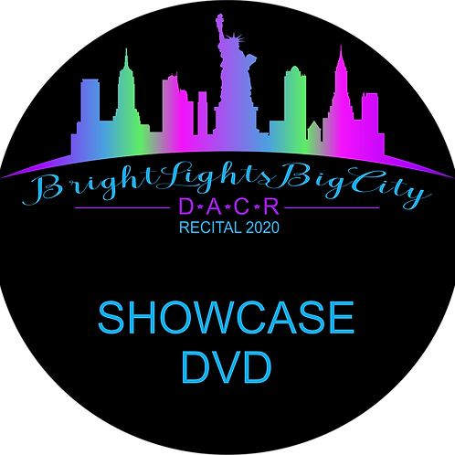 COMPETITION SHOWCASE DVD