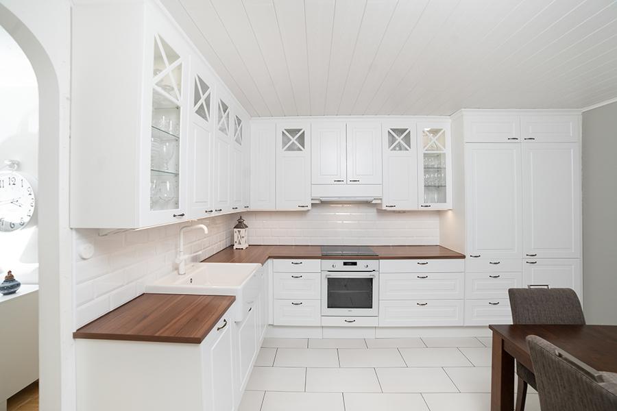 romanttinen keittiö