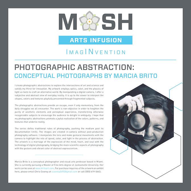 Arts Infusion Marcia Brito _ MOSH  2018
