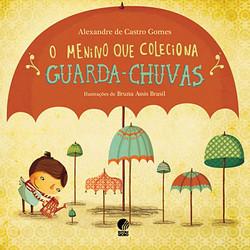 O menino que coleciona guarda-chuvas