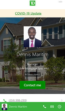 Dennis Maritim Mortgage Specialist