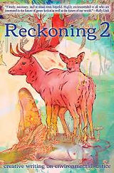 a colorful painting of red elk