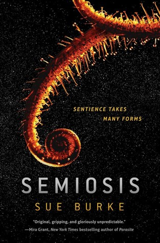 """a fern-like frond curls beside the tagline, """"Sentience takes many forms"""""""