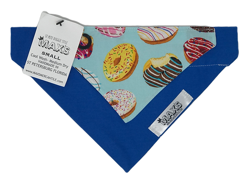 Donut Bandana Blue
