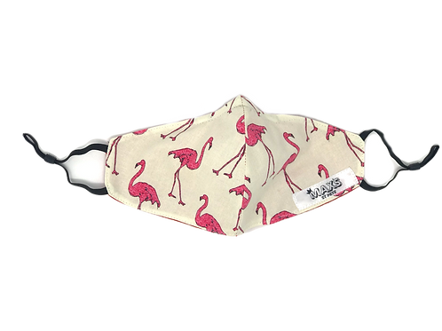 Pink Flamingo Adjustable Mask