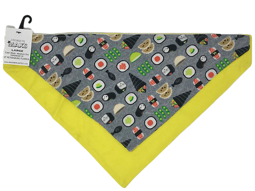 Sushi FLANNEL YELLOW