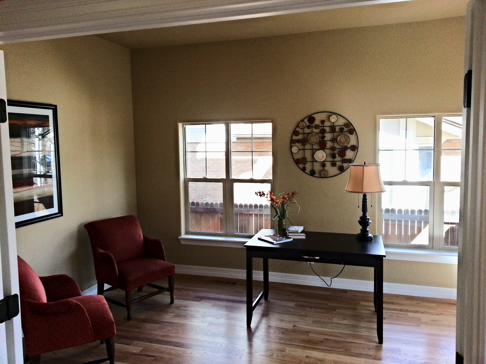 Painted Living Room