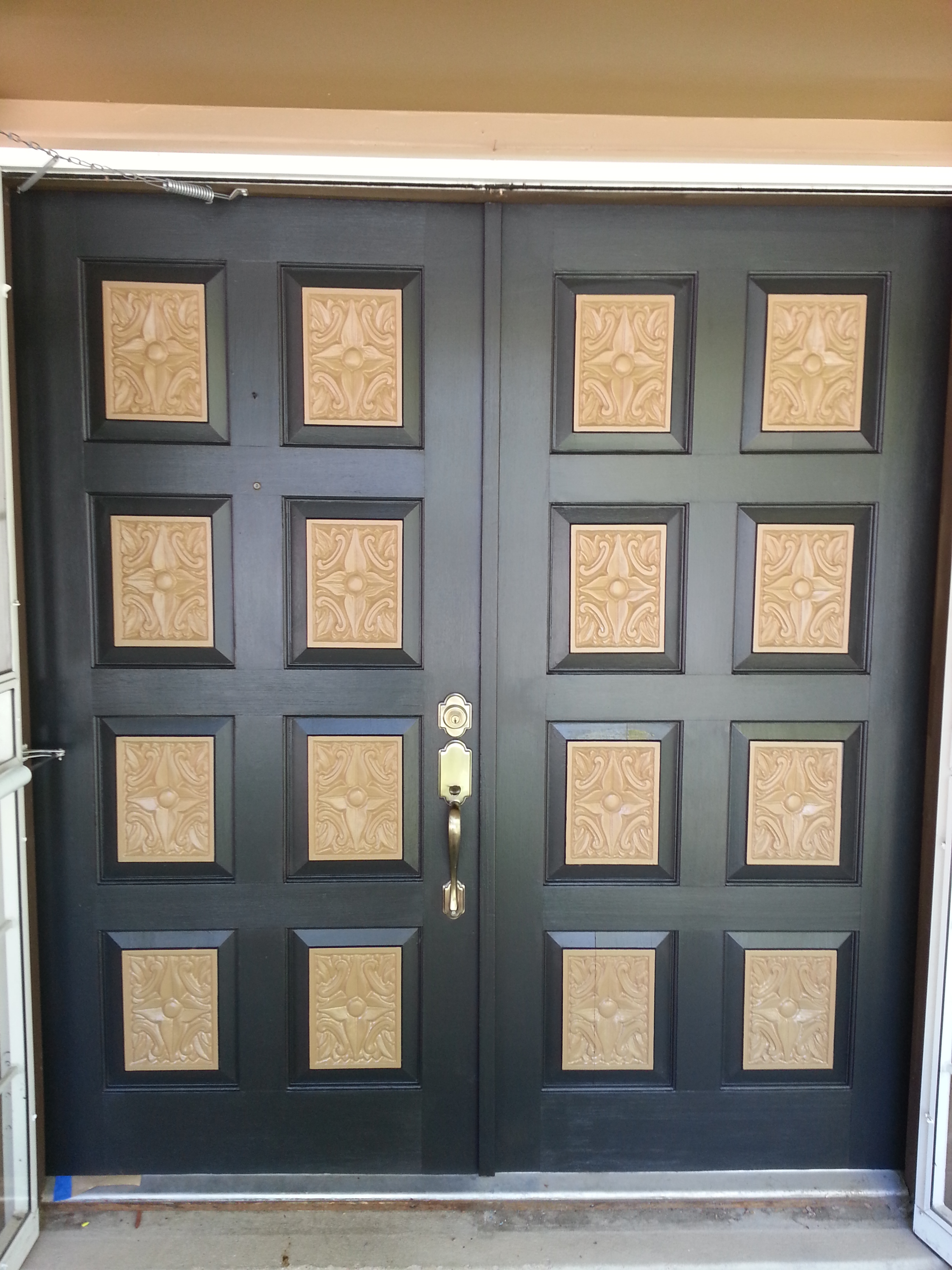 Custom Door Refinishing