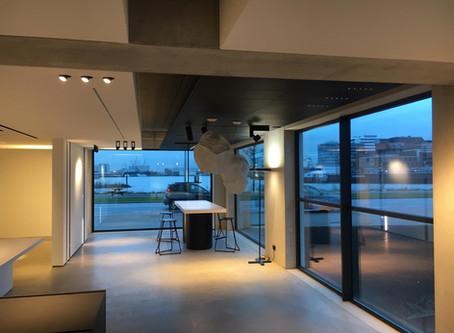 Opening showroom in Amsterdam