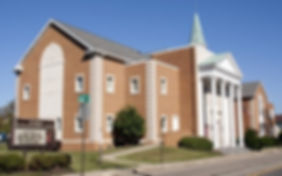 Exterior of the the former St. Paul's UMC, Canton Ohio