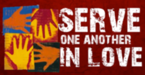 Serve One Another In Love