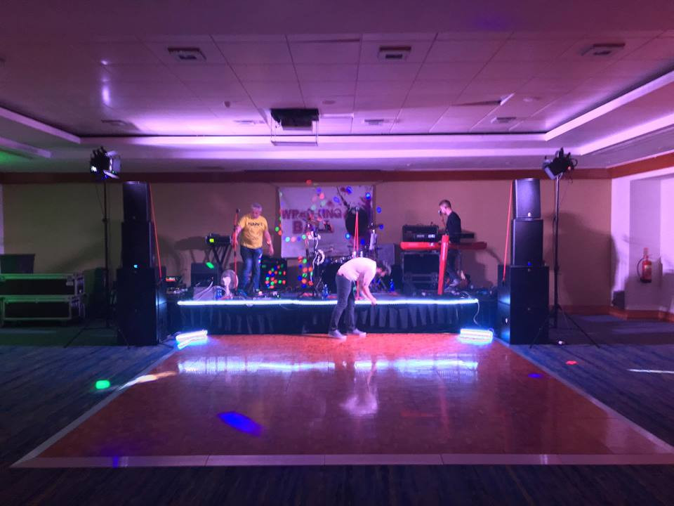 Wrecking Ball Wedding Band Wexford