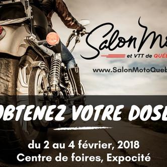 Le Salon de la Moto et du VTT de Québec