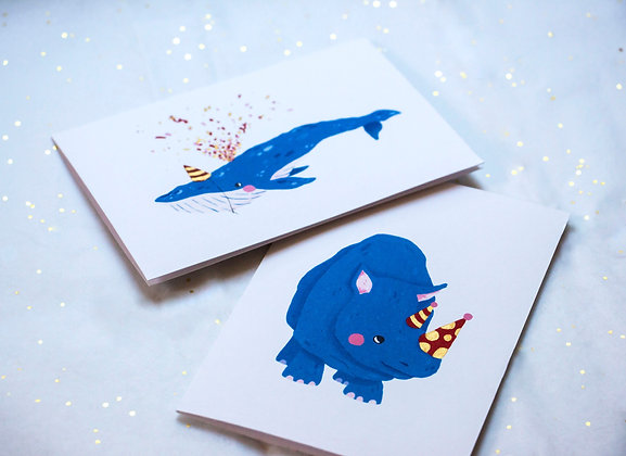 Party animal cards set