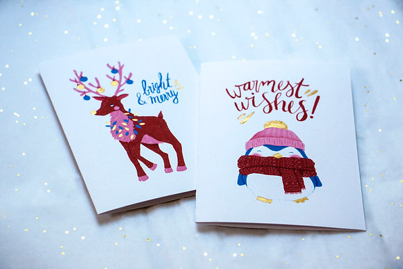Pack de cartes de vœux