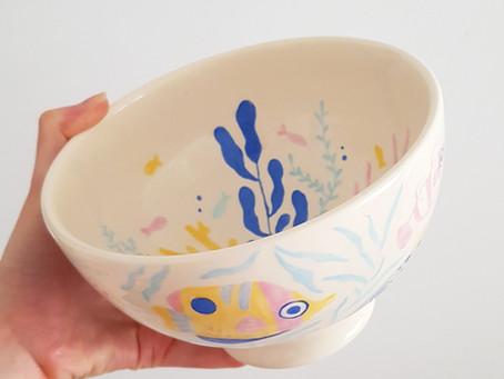 Ceramic painting collection