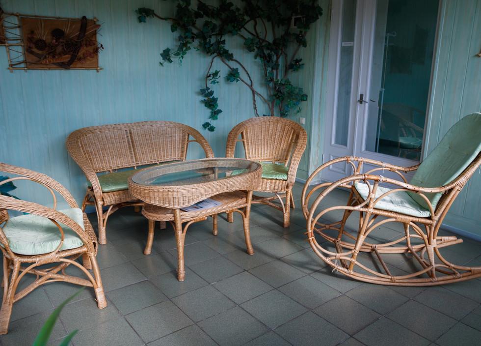 Комната отдыха для хозрасчетных пациентов