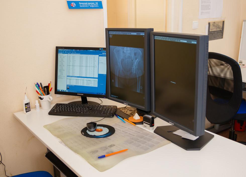 Рабочее место врача-рентгенолога