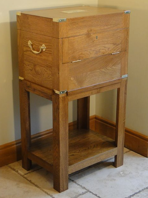 The Abbot's Well Table/Stand to fit 12x12 portable drinks cabinet