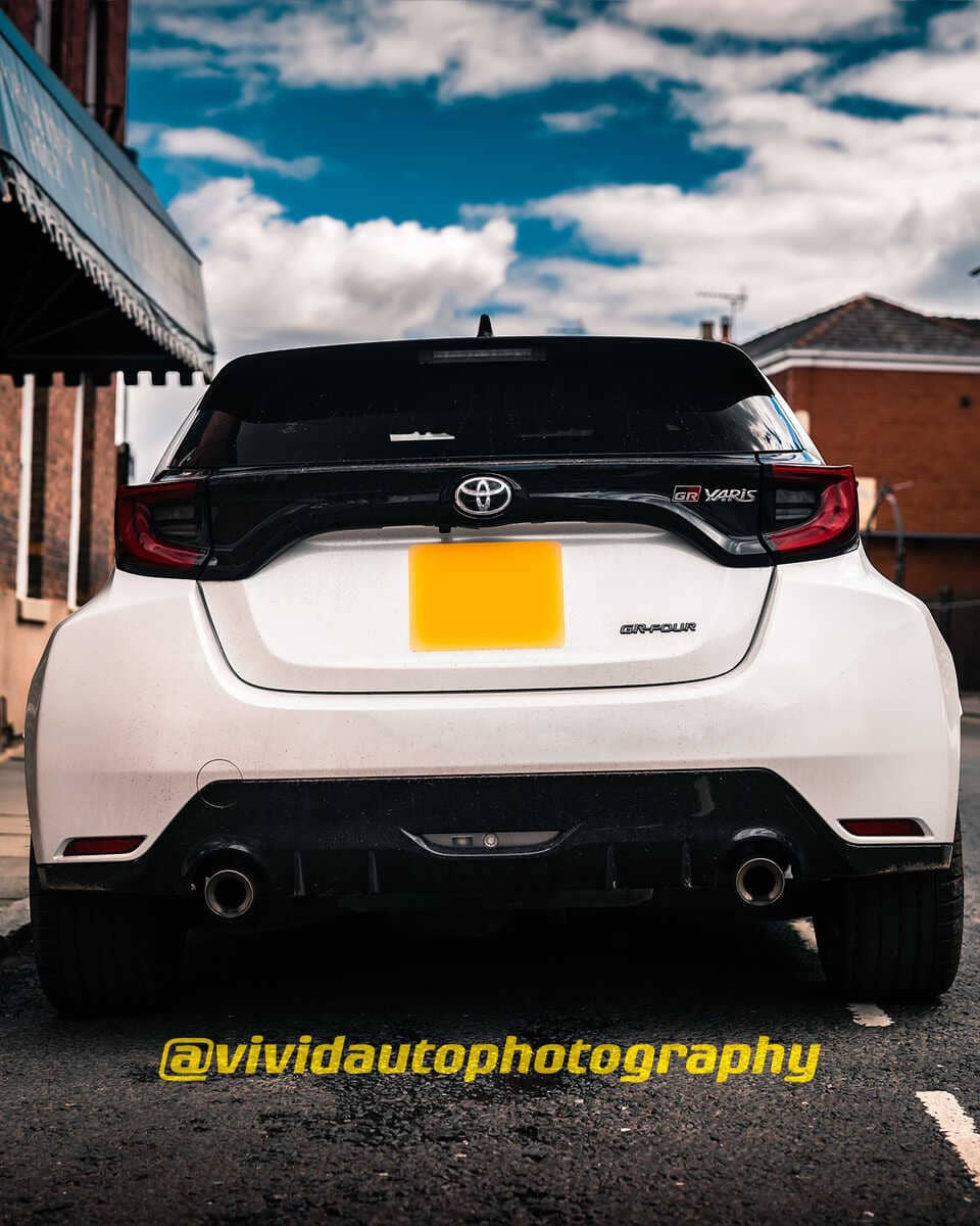 Toyota GR Yaris   Pure White   Rear poster