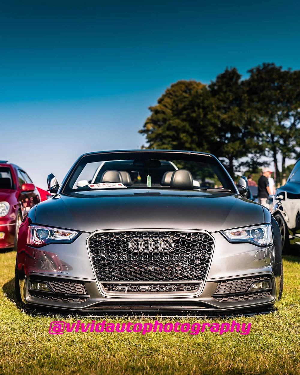 Audi A5 Convertible | North Staffs Customs Car Club | Daytona Grey