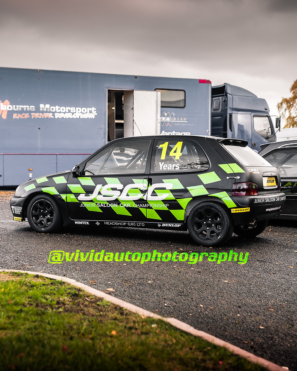 Junior Saloon Car Champioship | Citroen Saxo | Oulton Park