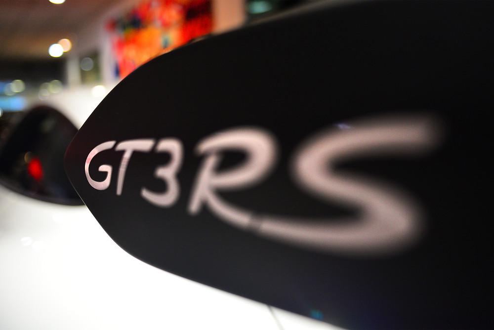 Porsche 911 Gt3 RS spoiler