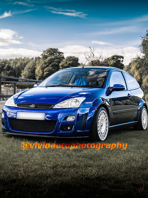 Ford Focus RS MK1 | Imperial Blue | Oulton Park