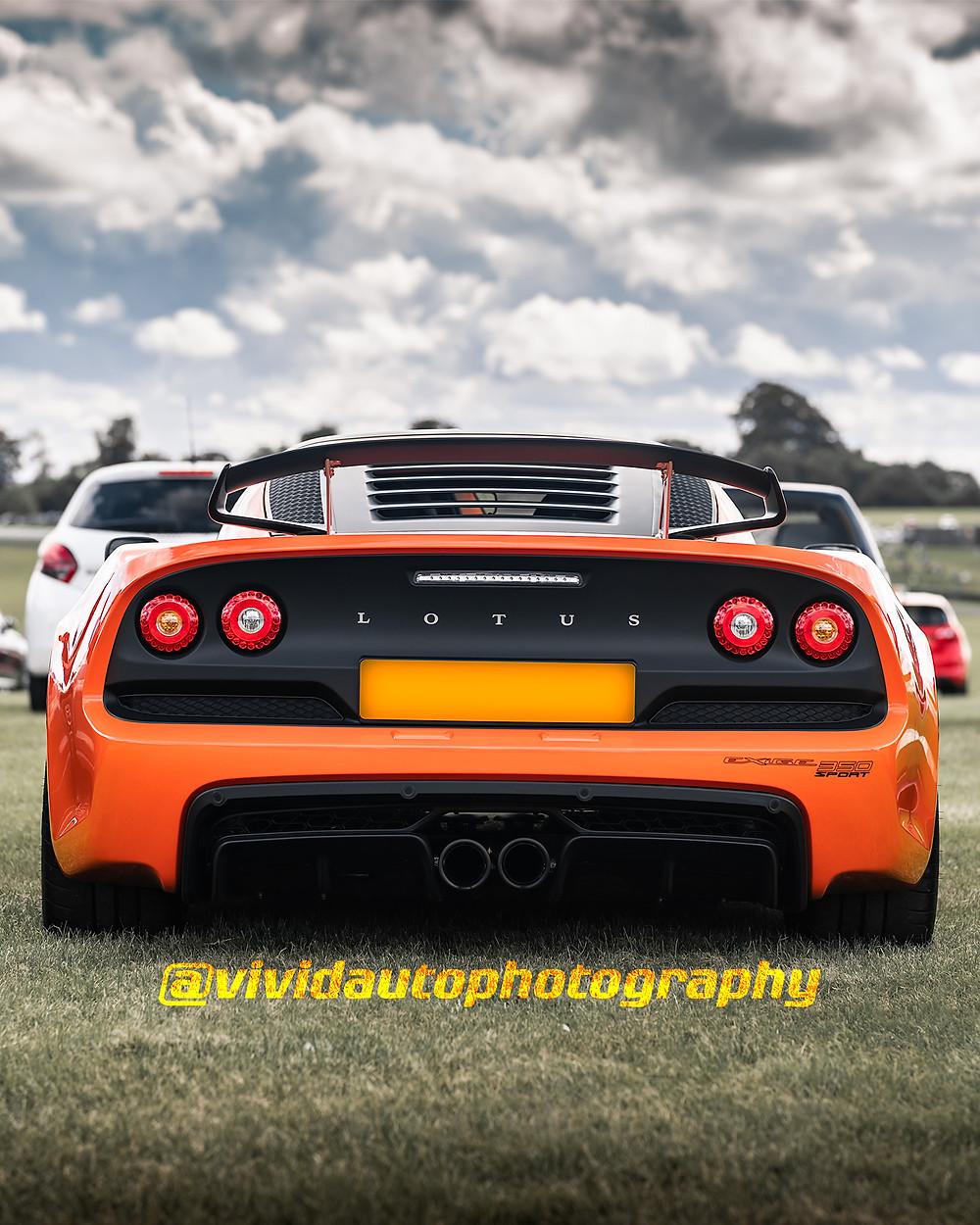 Lotus Exige Sport 350 | Signature Orange | Rear poster