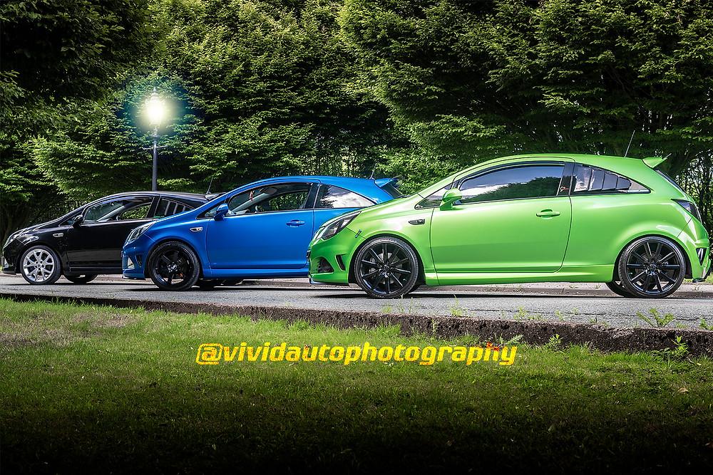 Vauxhall Corsa X3 Photoshoot | Crewe Hall