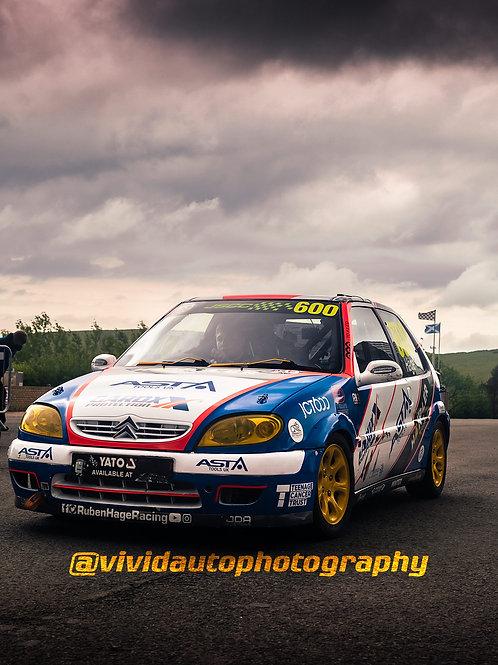 Ruben Hage | Citroen Saxo | Knockhill and Snetterton