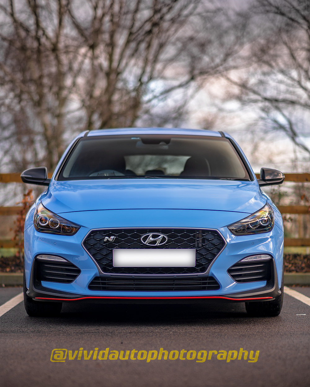 Hyundai i30N Performance front poster | Sunny