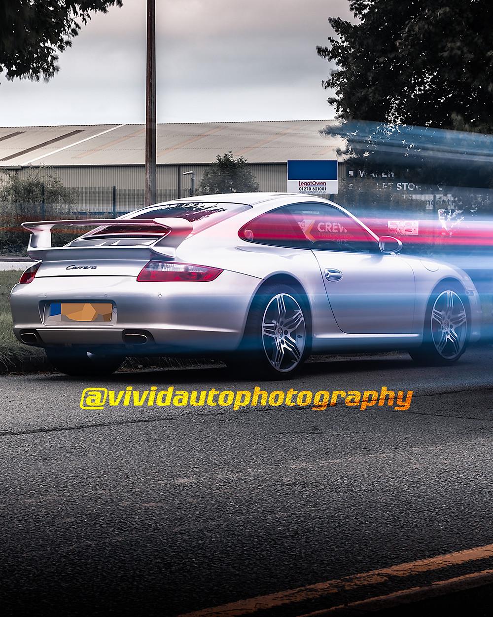 Porsche 911 Carrera Aerokit   GT Metallic Silver   Crewe