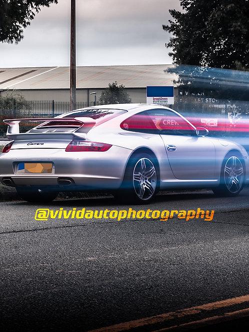 Porsche 911 Carrera 997 | Light Trail | Crewe