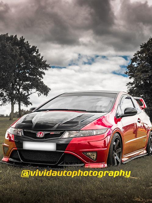 Mugen Honda Civic Type R | Oulton Park | Misano Red