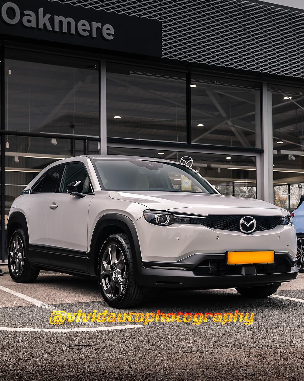 Mazda MX-30 | Sonic Silver | Oakmere Mazda