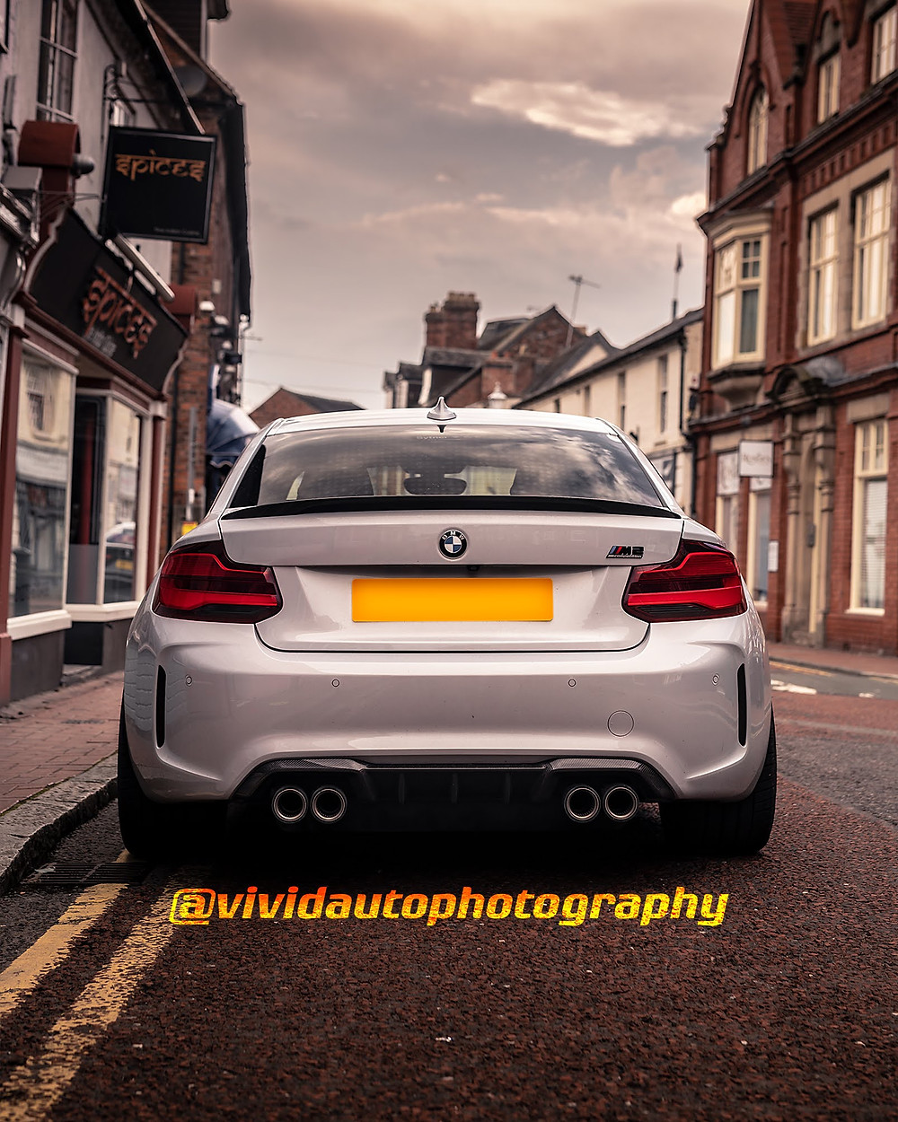 BMW M2 Competition Rear | Around Town