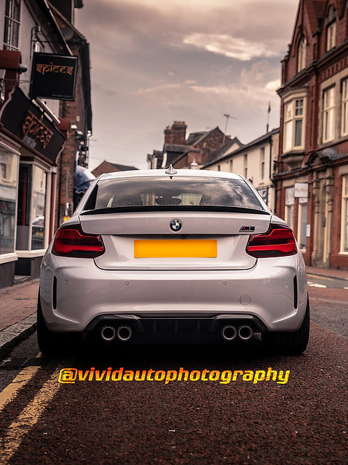 BMW M2 Competition | Rear Poster