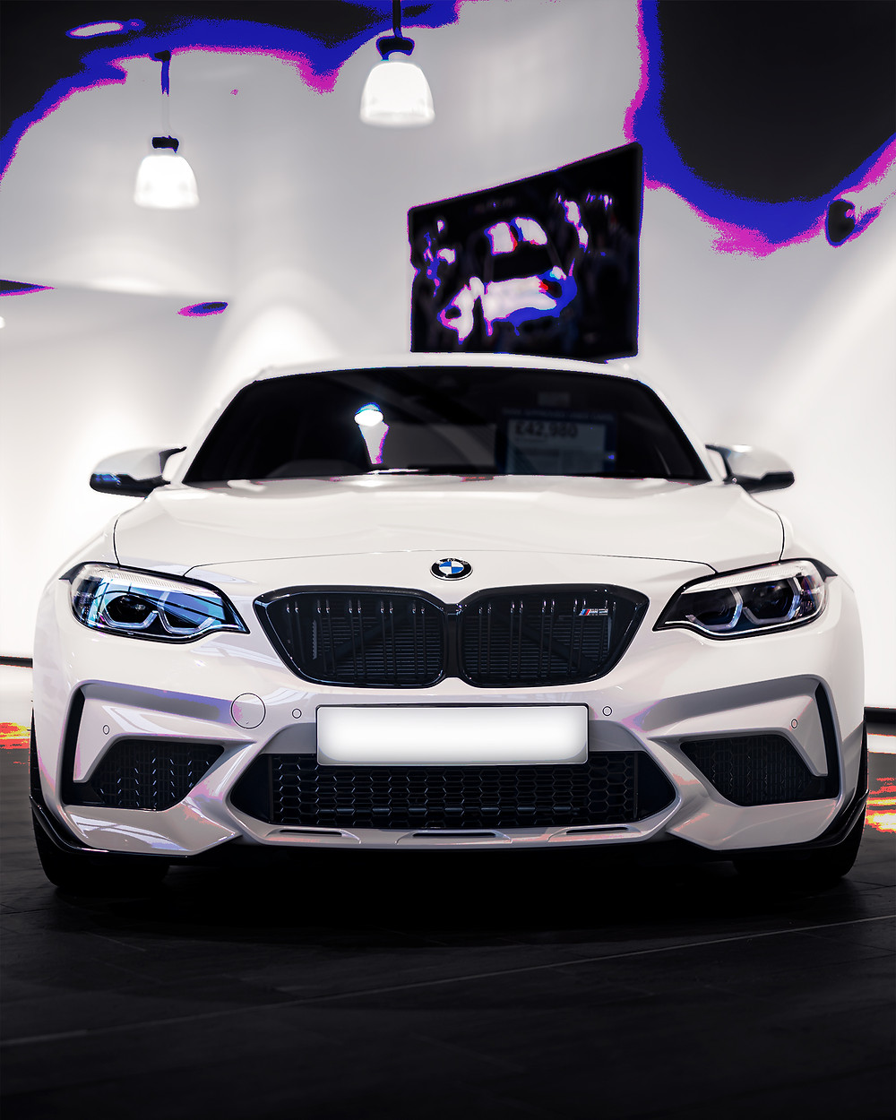 BMW M2 Competition front face