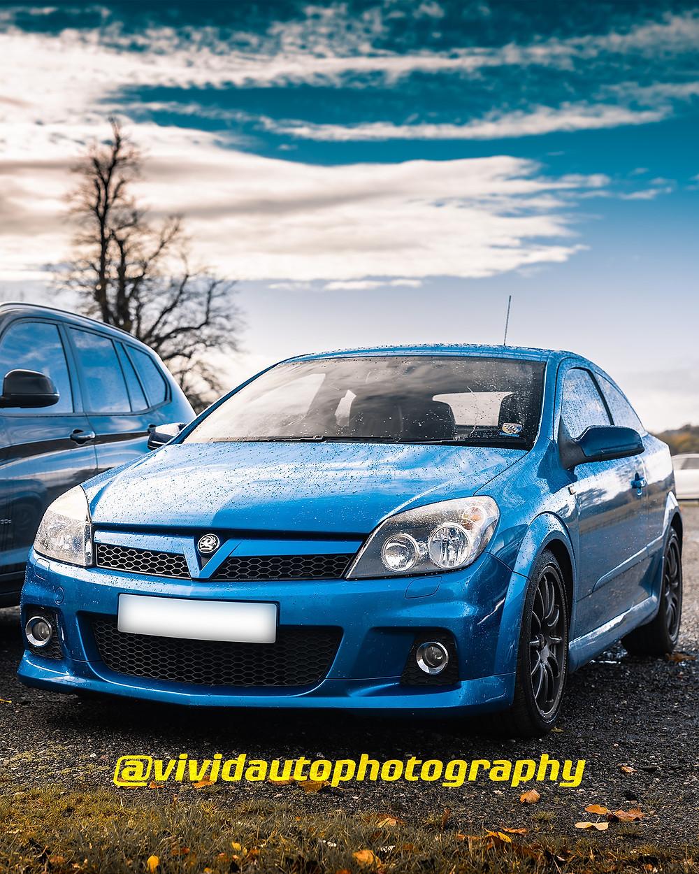 Vauxhall Corsa VXR | Arden Blue | Front three quarters